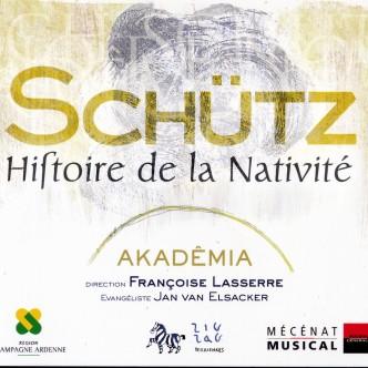 CD histoire de la nativite Schütz Akademia