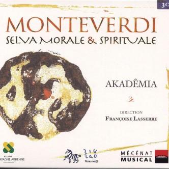 cd Monteverdi SELVA MORALE E SPIRITUALE Akademia